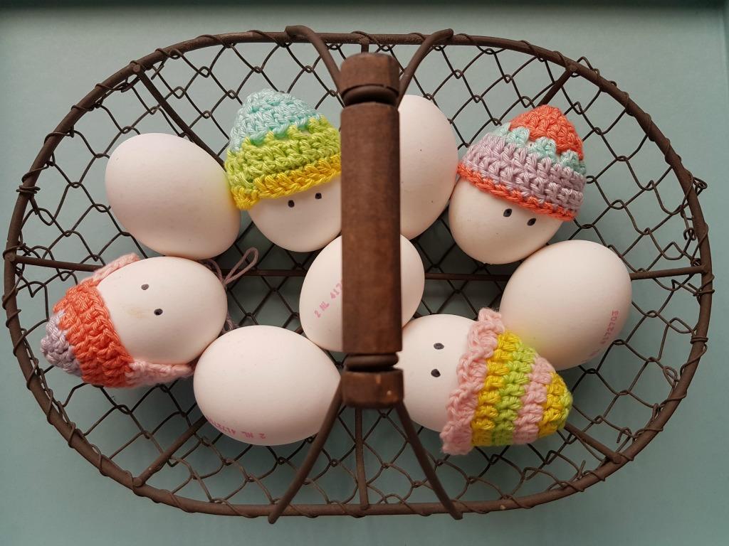 Gehaakte eierdopjes