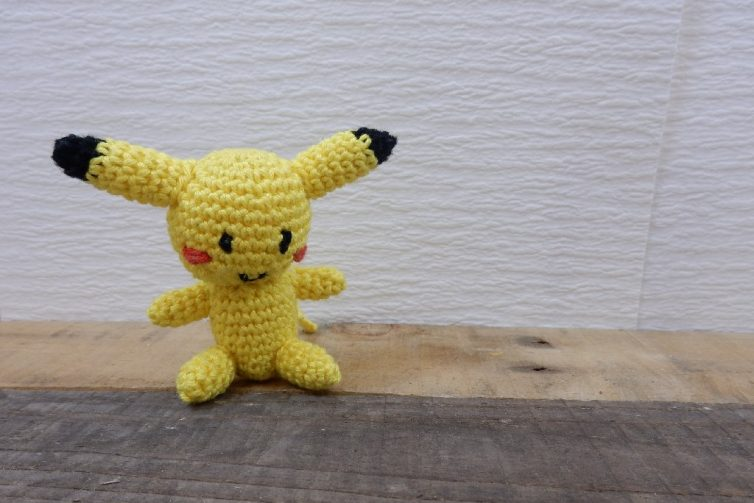 Amigurumi Leren Haken : Amigurumi pikachu haken leren haken