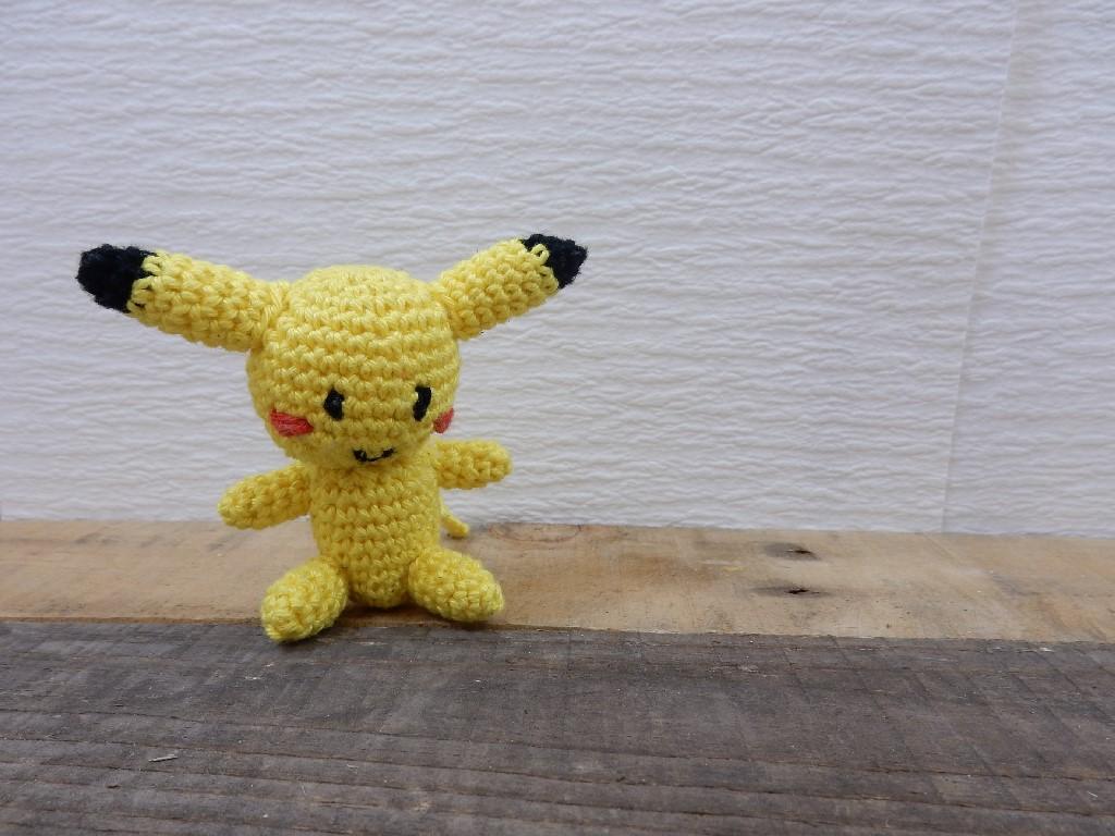 Amigurumi Leren Haken : Amigurumi pikachu haken leren